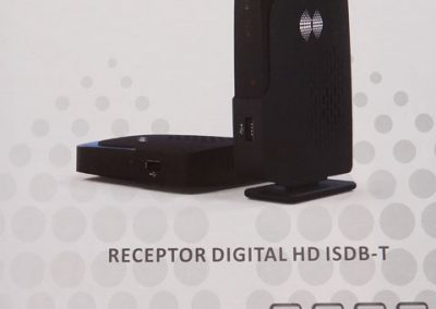 Receptor digital para TV